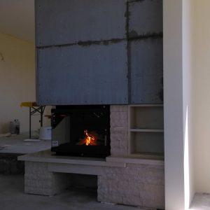 Semineu de colt modern / clasic Navodari Corbeanca