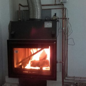 Seminee centrala termica / termosemineu cu automatizare si puffer