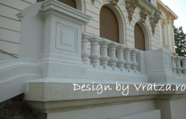 Capiteluri si Balustrii masiv piatra Naturala Baschioi
