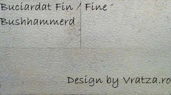 Placaj piatra naturala Vratza Buciardat Fin 60 x 30 x 2 cm