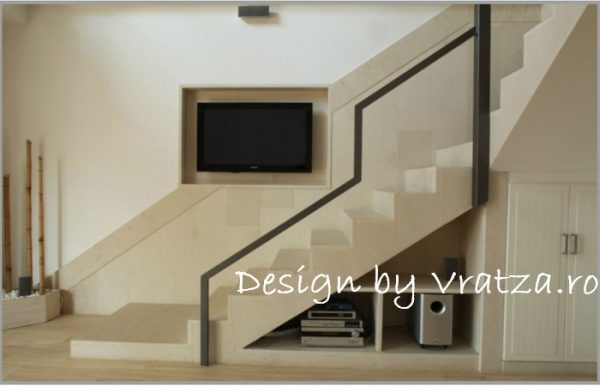 Trepte interior & exterior Vratza
